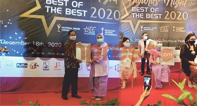 Tokoh Perempuan Aceh Terima Reward Bergengsi Tingkat Nasional