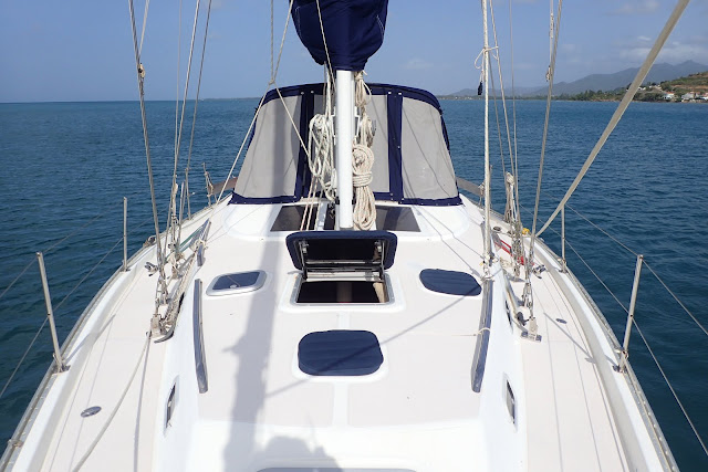 Things we did today   : 1995 Catalina Morgan 45' Center Cockpit