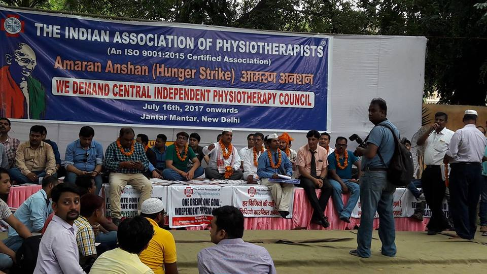 Physiotherapy a noble profession: Amaran Anshan- A ray of