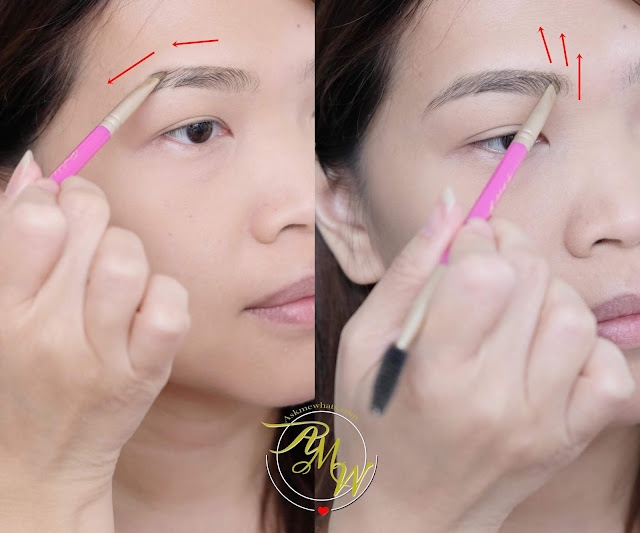 a photo on how to apply Project Vanity x Ellana Lifeproof Eyebrow Gel Review by Nikki Tiu