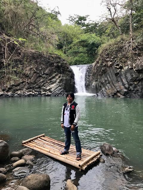 Kuya at Dunsulan Falls Pilar Bataan
