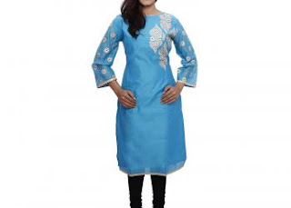 Embroidered kurti online