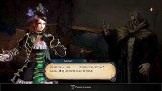 Bloodstained ritual of the night problème traduction