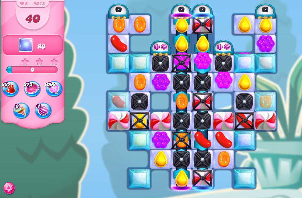 Candy Crush Saga level 9073