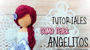 Cómo tejer un Angel para Navidad ~ varios modelos / Tutorial Crochet
