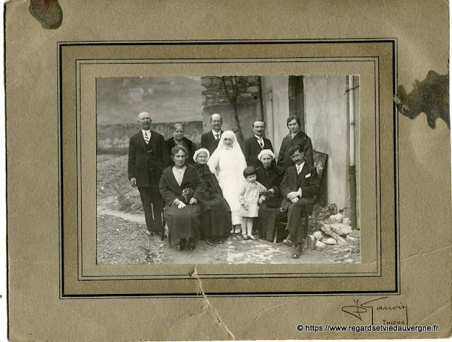 Mariage photo ancienne  N B