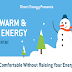 How to Save Energy in the Winter #infographic