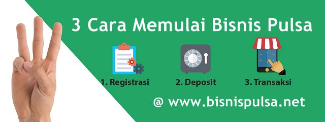 Cara Memulai Usaha Bisnis Jualan Pulsa Elektrik Murah All Operator Bersama BisnisPulsa.net