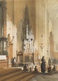 Repositorium Sanctae Eucharistiae - Historical Modes of Eucharistic Reservation: The Sacrament Tower