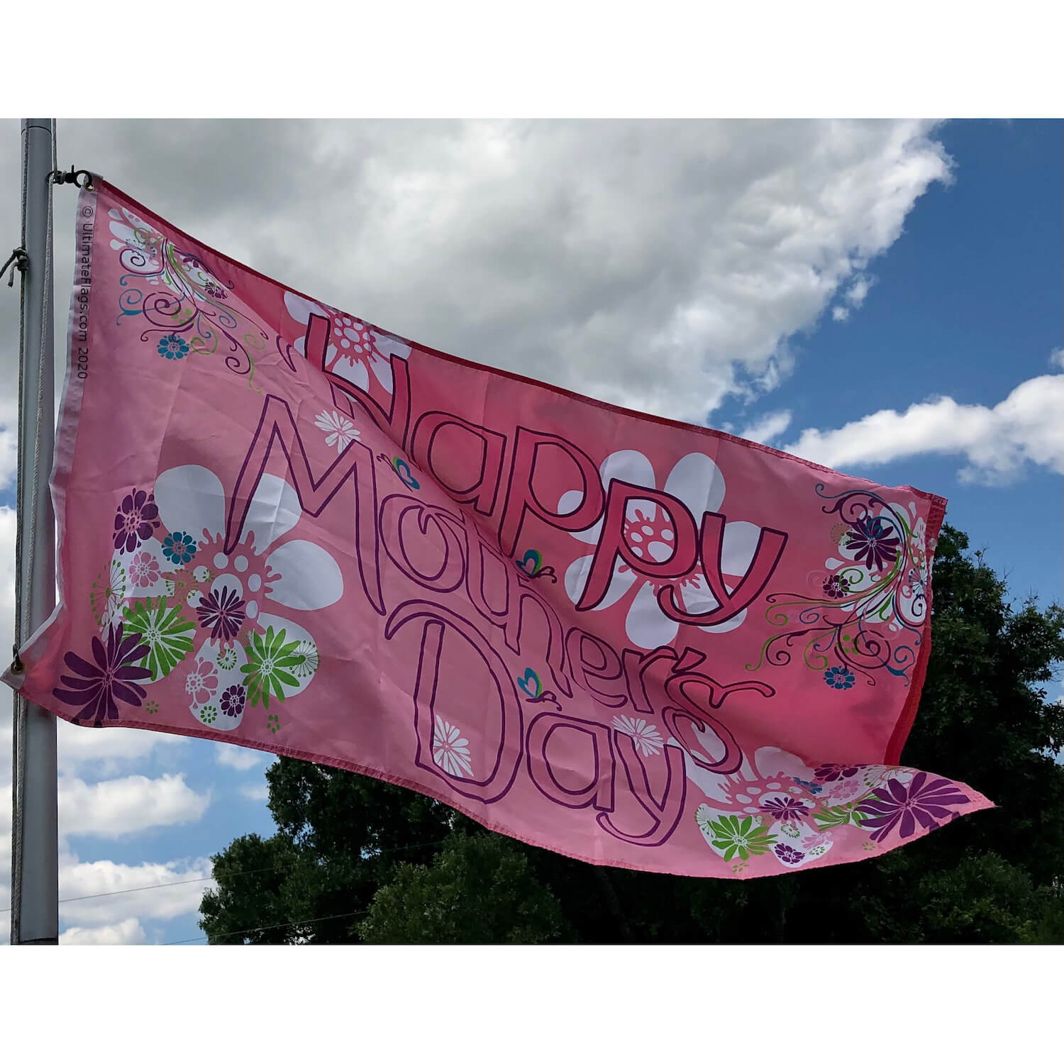 Mothers day flag