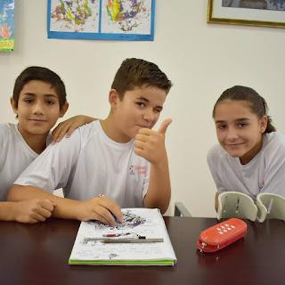 Niños y niñas de primaria hacen nuestro programa cada temporada