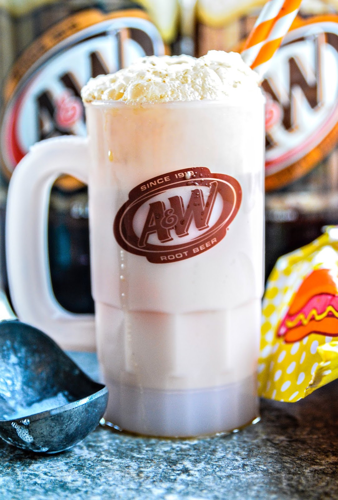 A & W Root Beer Float