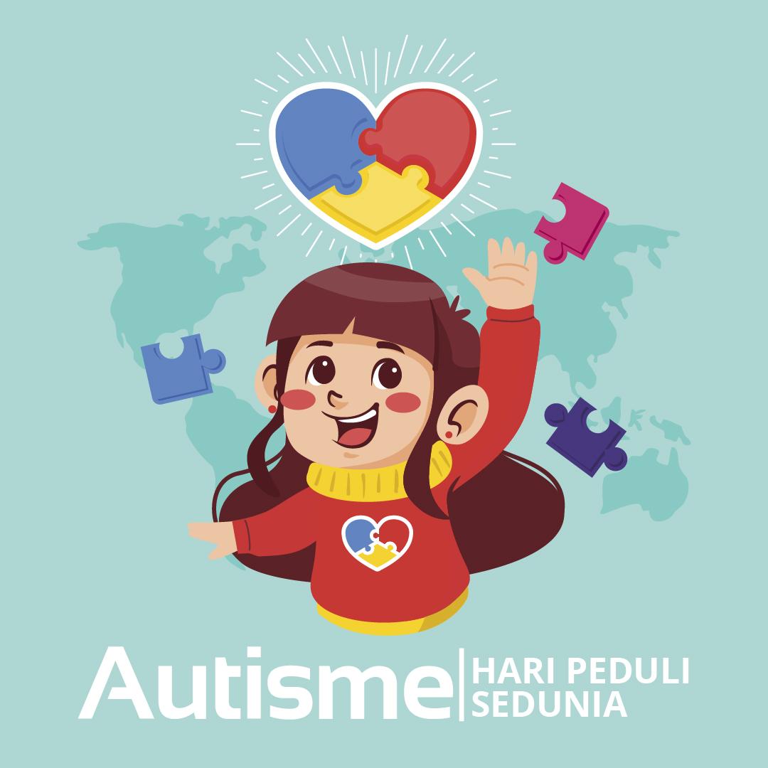 Gambar Ucapan Hari Peduli Autisme Sedunia - 2021