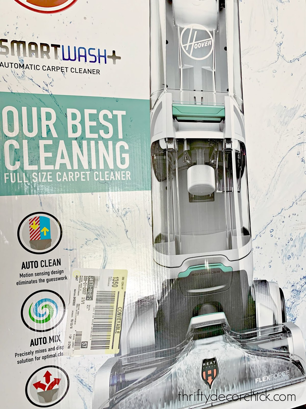 Hoover smart wash carpet cleaner review