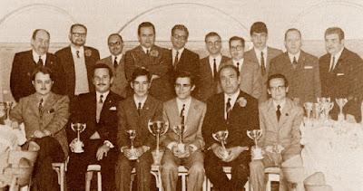 Febrero de 1971 – Jugadores del Club de Ajedrez Espanyol