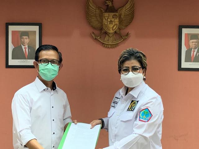 Anggota DPD RI Dr. Maya Rumantir, MA. Ph.D Kembali Bahas Persiapan Penyelenggaraan Ibadah Haji Dan Umrah 2021/1442 H