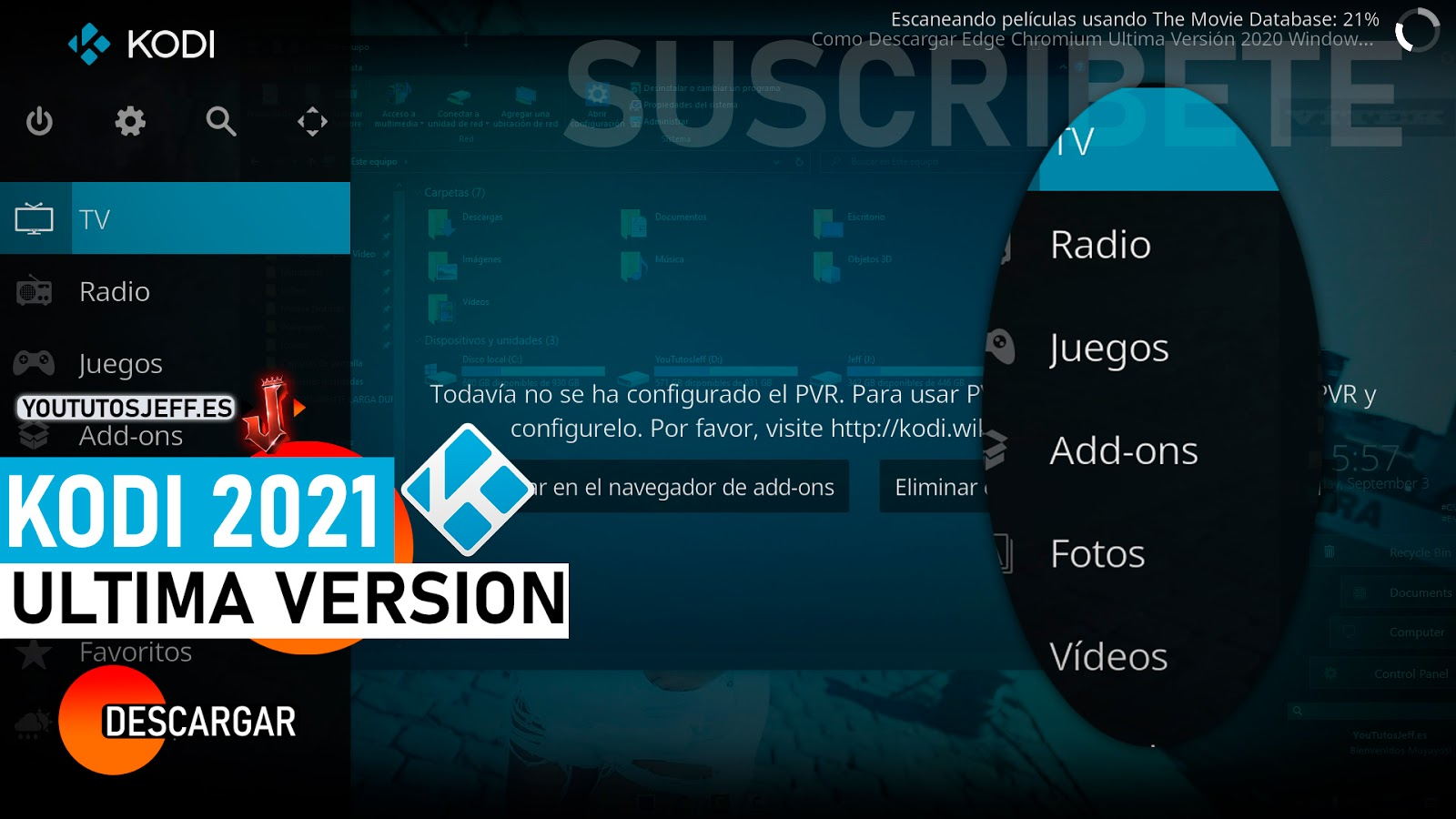 Como Descargar Kodi Ultima Version 2021 FULL ESPAÑOL