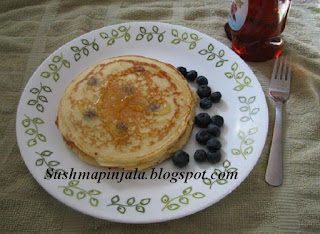 Blueberry Pancake's