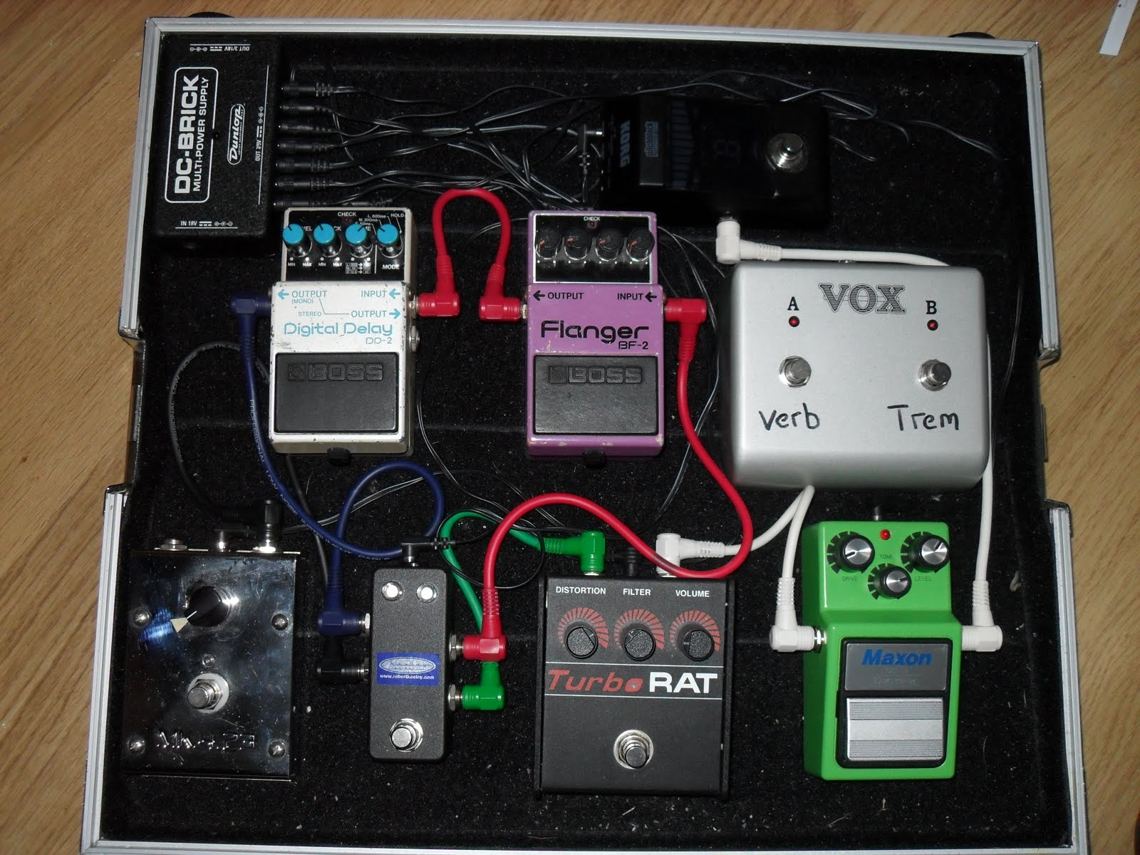 The Guitar Project Pedalboard Wiring Diagram This Post Is On Latest Version Of My Pedal Board Ive Designed For A Killer Tone Using Mostly True Bypass Pedals And Couple Old