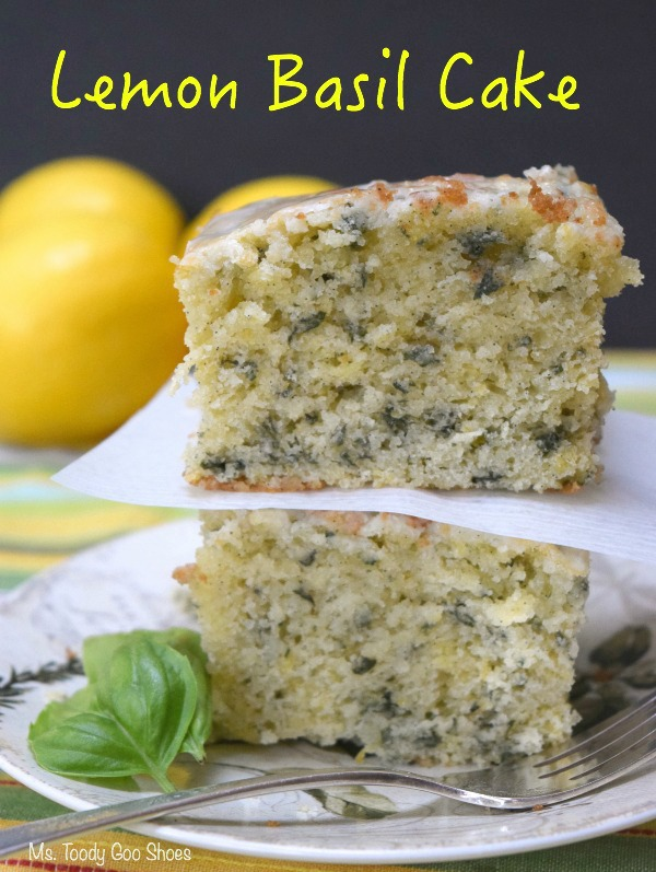 Lemon Basil Cake | Ms. Toody Goo Shoes