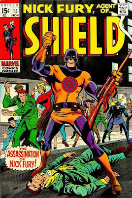 Nick Fury Agent of SHIELD #15