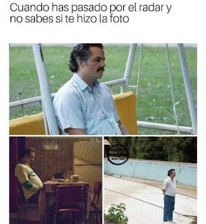Pablo Escobar actor, pensativo