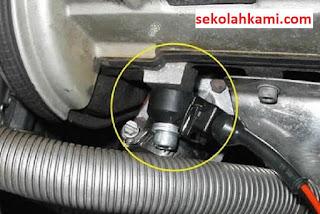 gejala knock sensor rusak