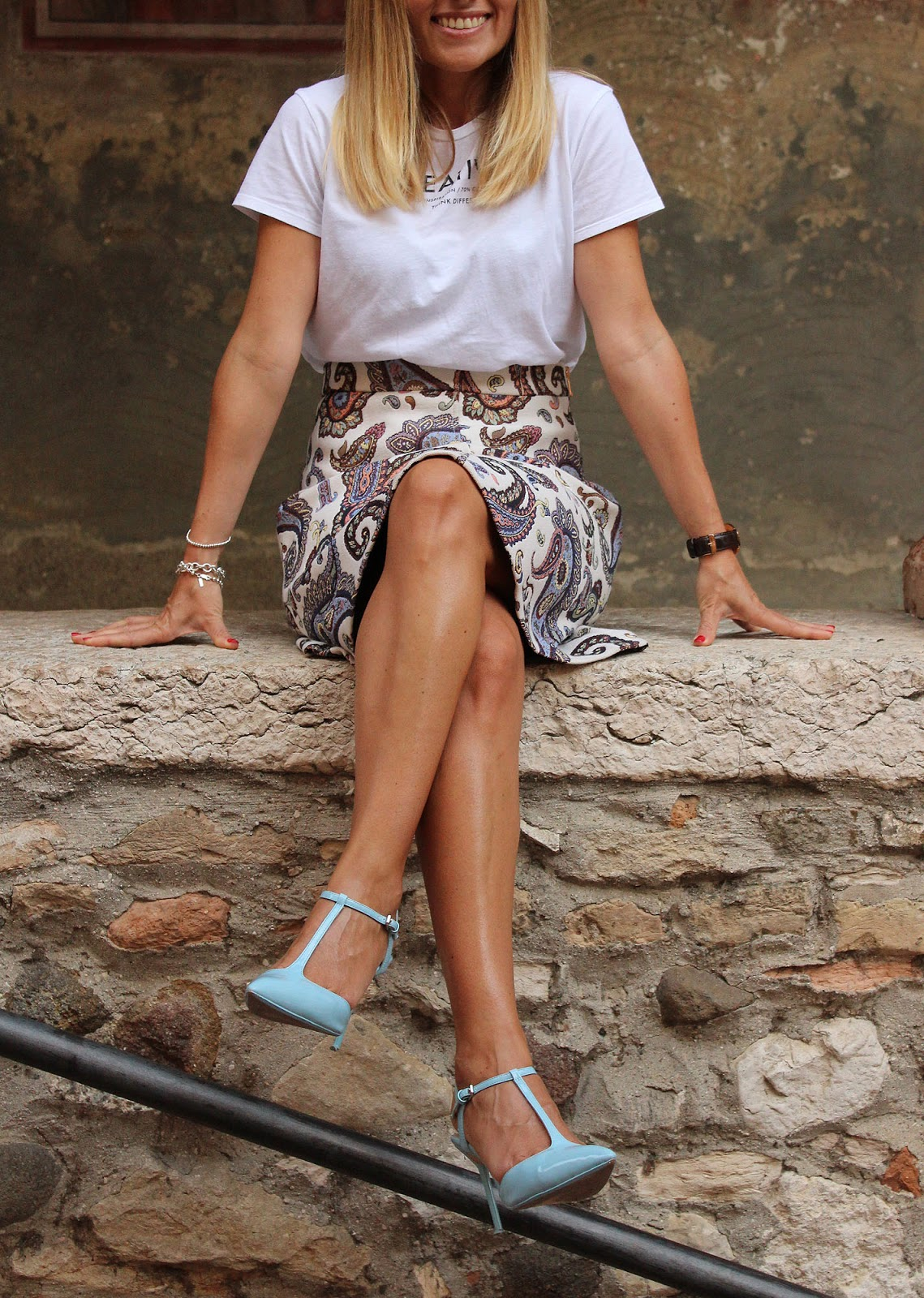 Eniwhere Fashion - Midi Skirt - Sirmione - Garda