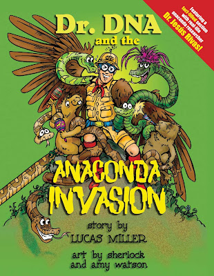 Dr. DNA and the Anaconda Invasion book cover