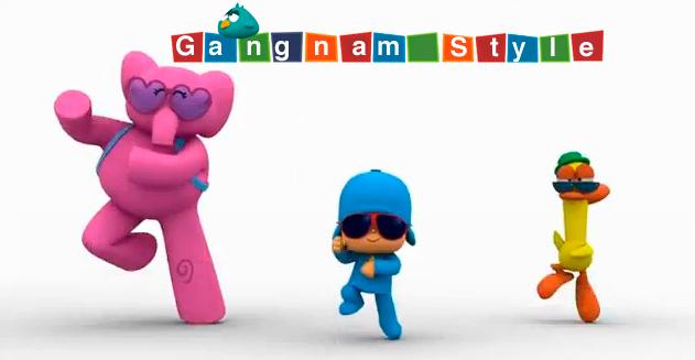 Learn the gangnam style dance pocoyo