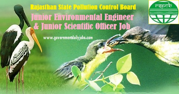 RSPCB JEE Recruitment 2021