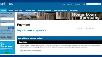 Bill Payment through Seterus com login