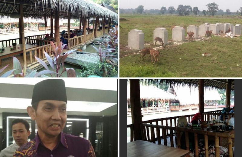 Ada Rusa di Rumah Makan Kampoeng Kalapa Sindang Jaya
