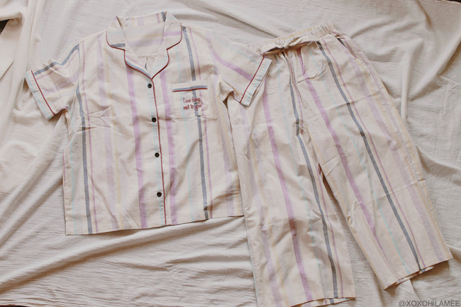 Japanese Fashion Blogger,MizuhoK,2019,New in May and June , PEACH JOHN PAJAMAS