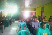Resmikan Renovasi Sekretariat dan Perpustakaan Mini Milik FK-PMLHK Jayapura Selasa,2021