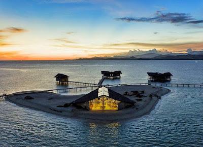 paket wisata ke pulo cinta gorontalo