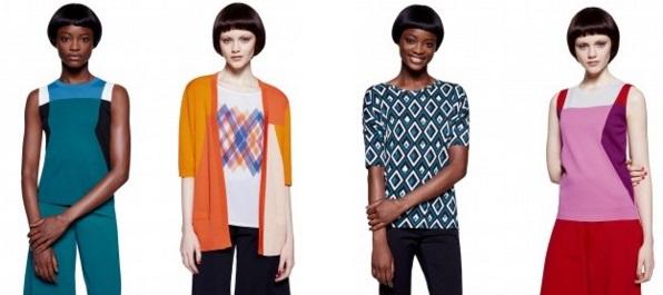 benetton: collezione moda donna primvera estate 2016