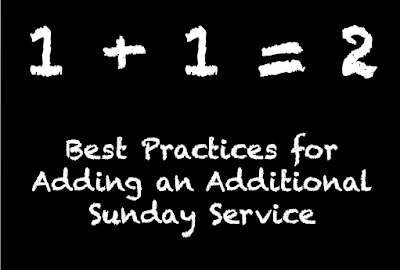 Launching an Additional Sunday Service