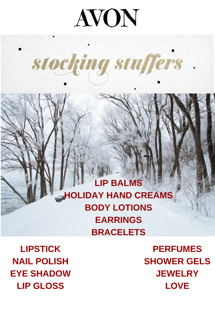 Avon Christmas Stocking Stuffers 2016