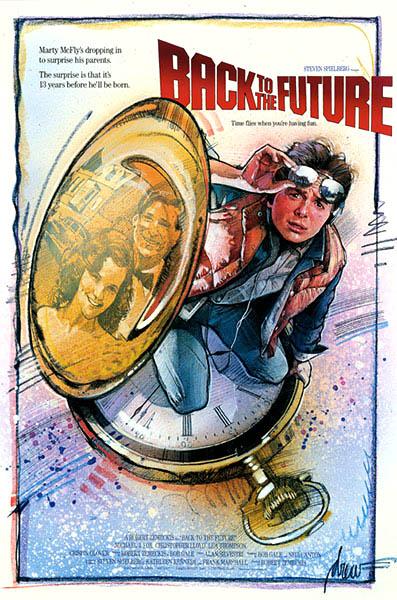 Regreso al futuro Poster Drew Struzan 1