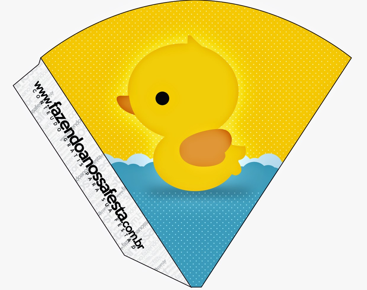 photograph about Rubber Ducky Printable named Rubber Ducky: Totally free Social gathering Printables. - Oh My Fiesta! within just english