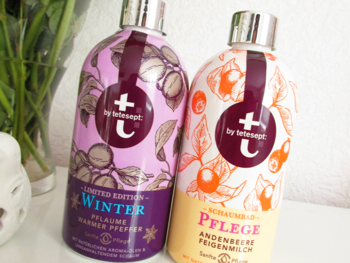 Review: t: by tetesept Limited Edition Winter - mit Pflaume & Warmer Pfeffer  &  Pflege - mit Andenbeere & Feigenmilch