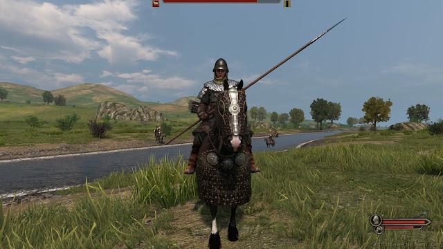 Mount and Blade II: Bannerlord - женщина на симулякре лошади