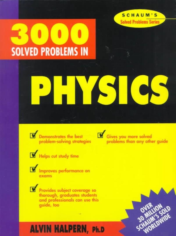 3000 Solved problems in physics – Alvin  Halpern