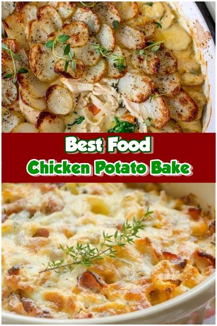 #Chicken #Potato #Bake