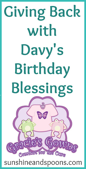 Giving Back with Davy's Birthday Blessings