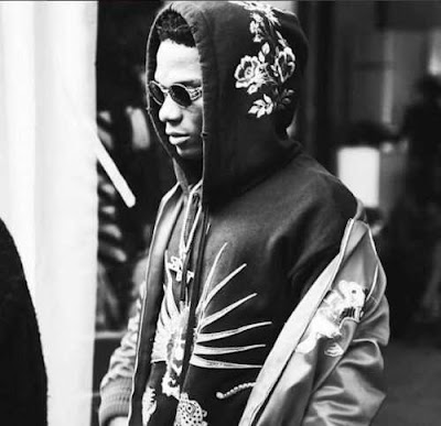 Wizkid Shows Off His ₦1m 'Gucci' Hoodie