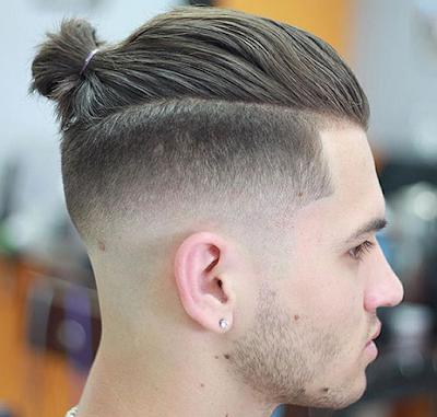 Top Knot Hair Tie For Men (Hairstyle Updates - www.hairstyleupdates.com)