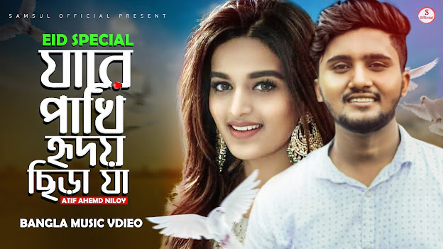 Ja re pakhi lyrics ( যা রে পাখি হৃদয় ছিঁড়া যা ) | Atif Ahmed Niloy