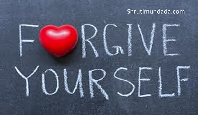 5 ways to forgive yourself in Hindi अपने आप को माफ करने के 5 तरीके